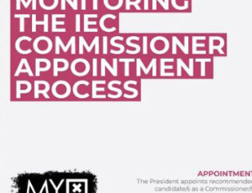 Monitoring the IEC Commissioner Appointment Process Infographic
