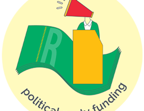 International Right to Know Day Statement: Do voters have the right to know where the political parties get their money from?